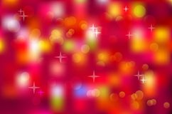 Blurred colorful background. Native blurred colorful background and star. Vector illustration Royalty Free Stock Photo