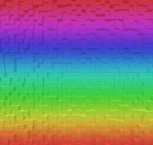 Blurred Colorful rainbow abstract background, 3d block style Royalty Free Stock Photos