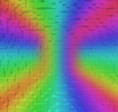 Blurred Colorful rainbow abstract background, 3d block style. Blurred Colorful rainbow abstract background RGB Color 8bit, 3d block style Royalty Free Stock Photos