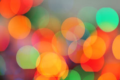 Blurred colourful lights Royalty Free Stock Image