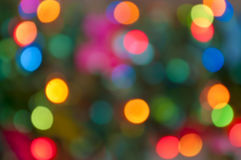 Blurred colourful lights background Royalty Free Stock Photos