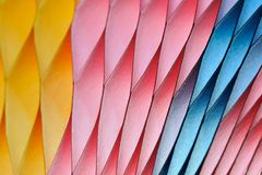 Blurred colourful Paper on background royalty free stock photography