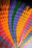 Blurred colourful Paper on background stock photo