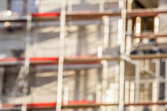 Blurred construction background Royalty Free Stock Photography