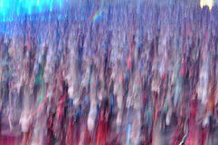 Blurred crowd Stock Photos