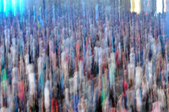 Blurred crowd Stock Photography
