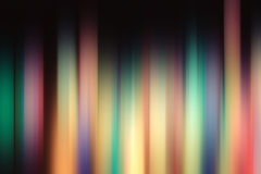 Blurred dark multicolor lines Royalty Free Stock Image