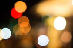 Blurred defocused lights background Royalty Free Stock Photos