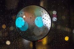 Blurred Defocused Lights of Heavy Traffic Stock Photo