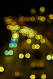 Blurred Defocused Lights Stock Photography