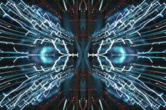 Blurred Defocused Lights, light spectrum Stock Image