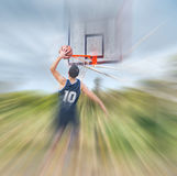 Blurred dunk Stock Images