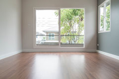 blurred empty door in living room interior background Royalty Free Stock Image