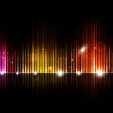 Blurred Equalizer Music Background Royalty Free Stock Image