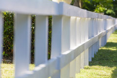 Blurred fence Royalty Free Stock Photography