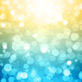 Blurred Festive Vector Background. This is file of EPS10 format Stock Photo