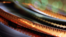 Blurred film reel Royalty Free Stock Photo