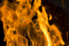 Blurred fire background Royalty Free Stock Photo