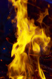 Blurred fire background Stock Images