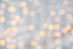 Blurred glden lights background Royalty Free Stock Image