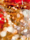 Blurred gleaming Christmas decorations Royalty Free Stock Photos