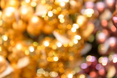 Blurred glittering Christmas background Royalty Free Stock Images