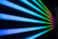 Blurred and glowed neon light background Stock Photos