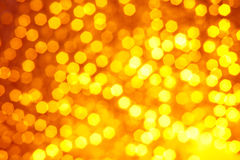 Blurred golden background Royalty Free Stock Photos