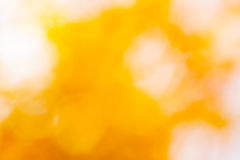 Blurred golden background bokeh Royalty Free Stock Photos