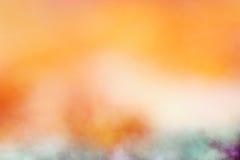 Blurred golden orange Royalty Free Stock Image