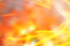 Blurred golden orange background Stock Image