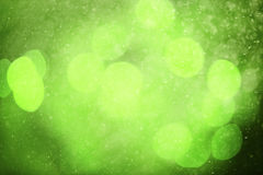 Blurred green abstract bokeh raindrops background Royalty Free Stock Images