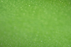 Blurred green sparkles Royalty Free Stock Photos