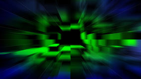Blurred green yellow blue background Stock Photography