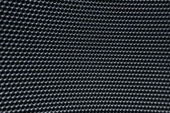 Blurred Grey Macro round  Metallic grid net texture Stock Image