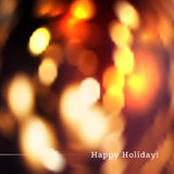 Blurred holiday bokeh background Stock Photos