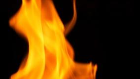 Blurred hot danger fire blazing. Stock Image