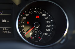 Blurred image of car instrument panel Royalty Free Stock Image