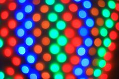 Blurred image of colorful lights.Christmas background. holiday concept royalty free stock image