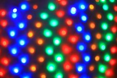Blurred image of colorful lights.Christmas background, holiday concept royalty free stock images