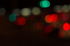 Blurred image of lights Royalty Free Stock Photography