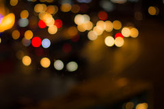 Blurred image of lights Royalty Free Stock Photo