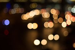 Blurred image of lights Royalty Free Stock Images