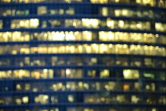 Blurred image of the office buildings Royalty Free Stock Images