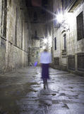 Blurred image of a person Royalty Free Stock Image