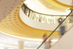 Blurred image of shopping mall Royalty Free Stock Photos
