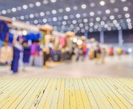 Blurred image of shopping mall and people for background usage. Blurred image of shopping mall and people for background usage Stock Photo