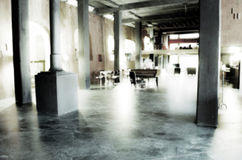 Blurred Jazz piano caffe bar. Royalty Free Stock Photography