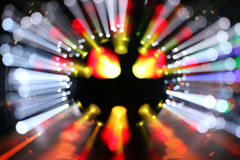 Blurred laser discoball Royalty Free Stock Photography