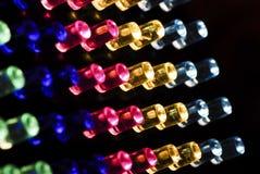 Blurred LED Light Backgroud. A Blurred LED Light Background image Royalty Free Stock Photos